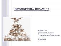 Презентація «Екологічна піраміда»