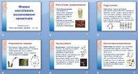 Презентація «Форми нестатевого розмноження організмів»